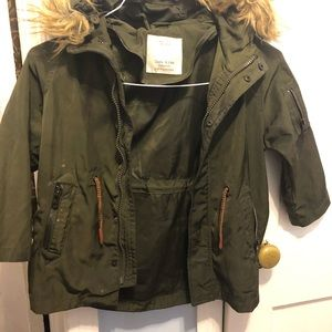 Zara coat size 5 boys